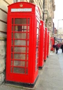 Red telephone box!