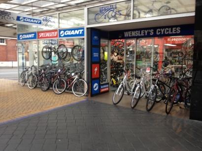 wensleys bike shop