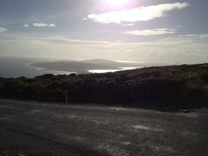 Bluff lookout