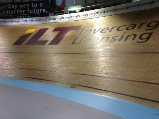 Banking on the velodrome