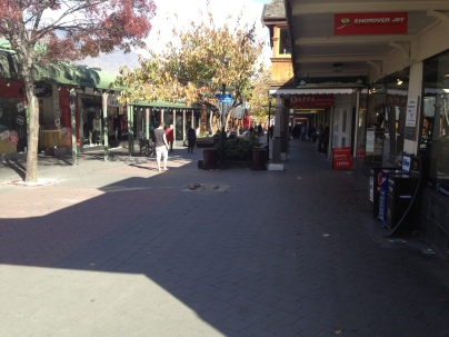 Queenstown centre