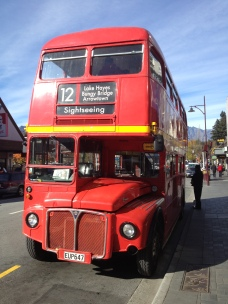 A London bus, in New Zealand?!