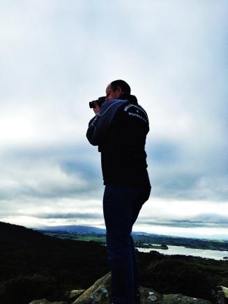 Mark, enjoying the scenery