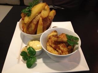 posh fish n chips