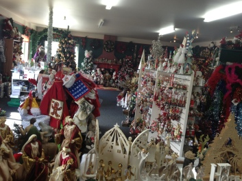 Christmas shop, Wallacetown