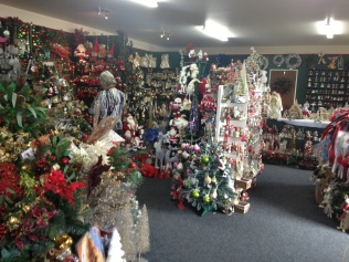 Christmas shop. Wallacetown