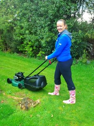 Preparing the new garden