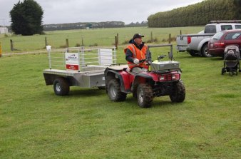 rural showground transport!