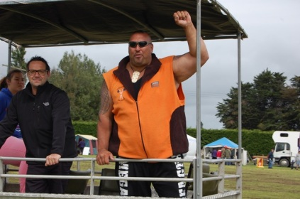 Levi, NZ strongest man