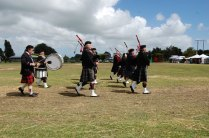 Wyndham Pipe band