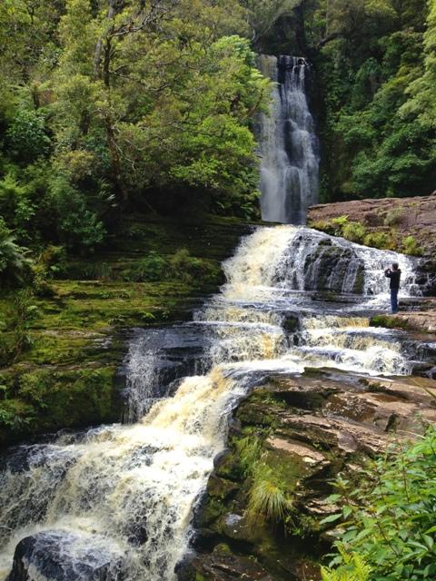 McLean falls (upper falls)