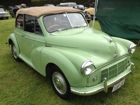 British Morris minor