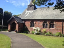St Oswalds. I got married here, Mum's funeral was here