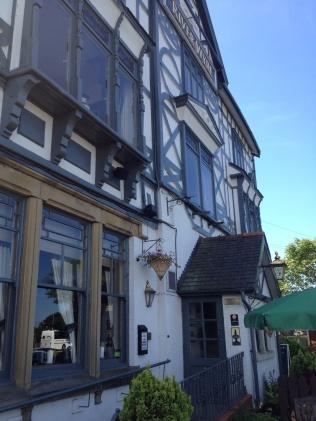 River Wyre pub where we met up