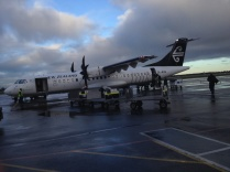 my plane that took me from Christchurch