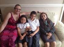 Nephew and his step sisters