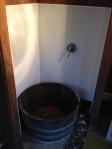 The shower basin!
