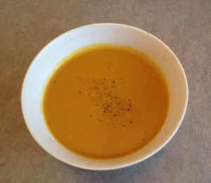 Pumpkin and Kumara soup