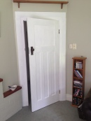 Door and frame painted!