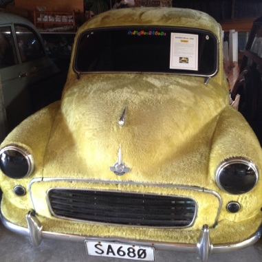A real life furry car!