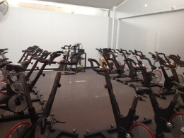 the Spin room at YMCA
