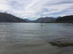 windy cloudy lake wanaka day 1