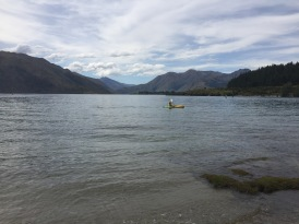windy cloudy lake wanaka day 1
