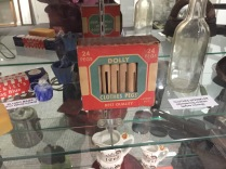 in a museum: i used to play with these!