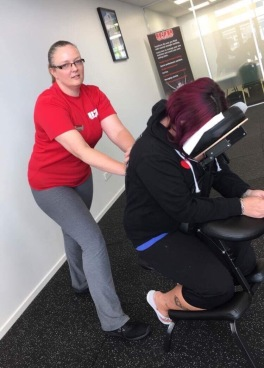 Open day chair massages