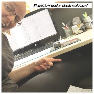 leg elevation solution!