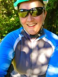 Melanie Ryding cycling